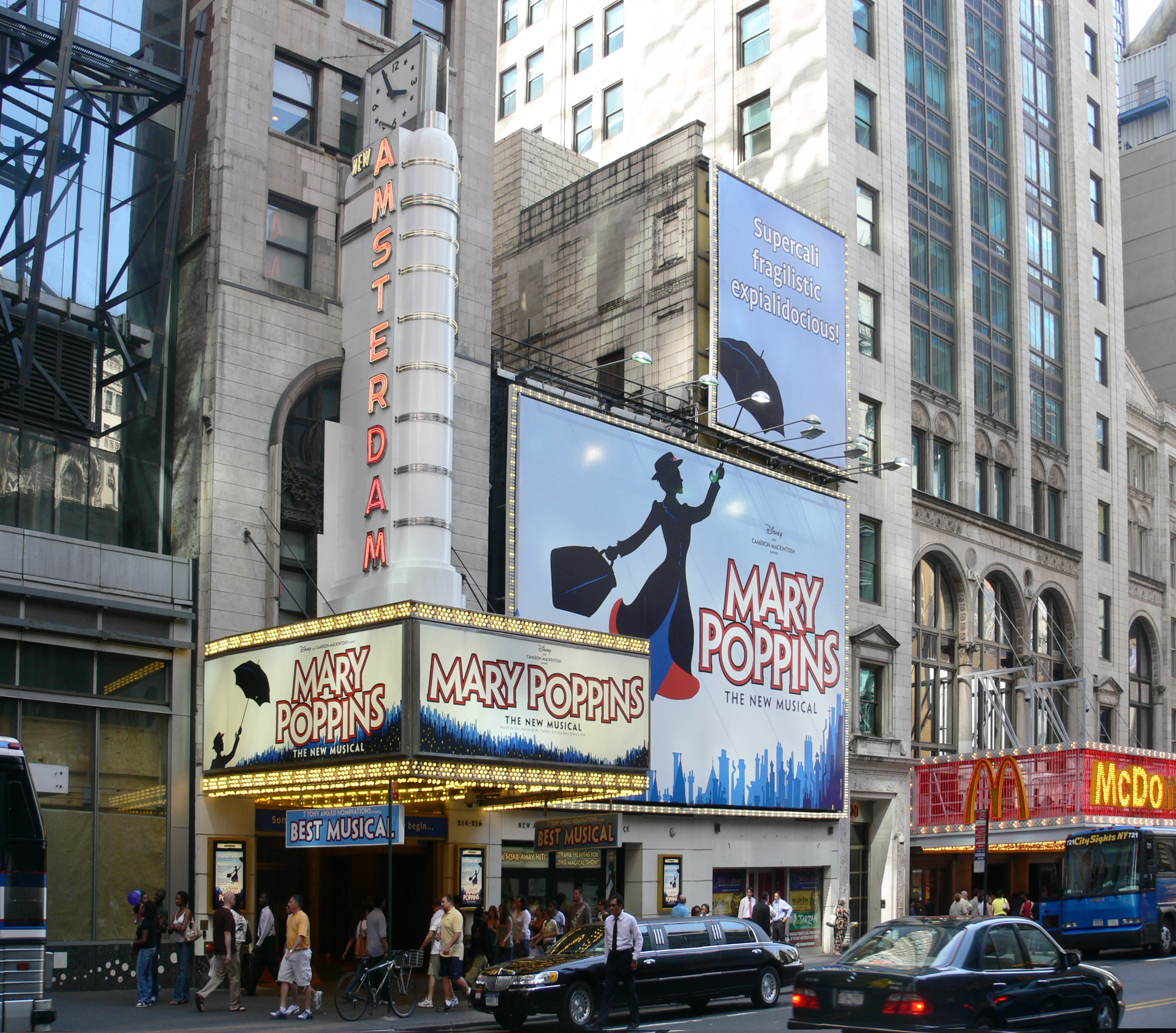 New Amsterdam Theatre Largest Broadway Theaters