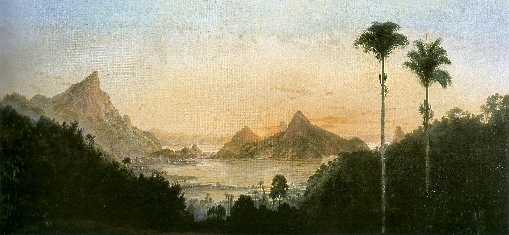 Ficheiro:Nicola Facchinetti - Lagoa Rodrigo de Freitas, Rio de Janeiro, ca. 1884.jpg