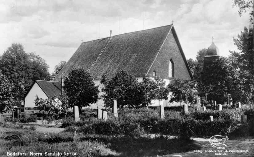 Norra Sandsjö Prästgård, stone