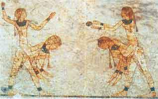 Old-Egyptian Kubb