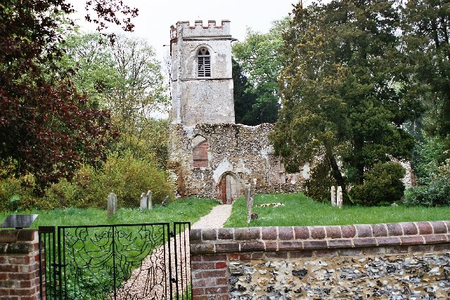 Old Church, Ayot St Lawrence - geograph.org.uk - 22843