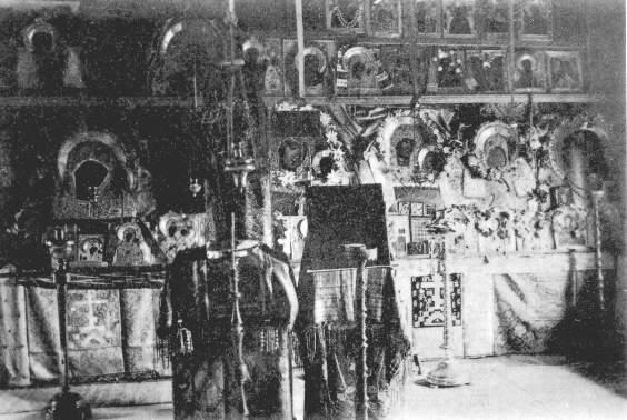 Моленная в Оленевском скиту