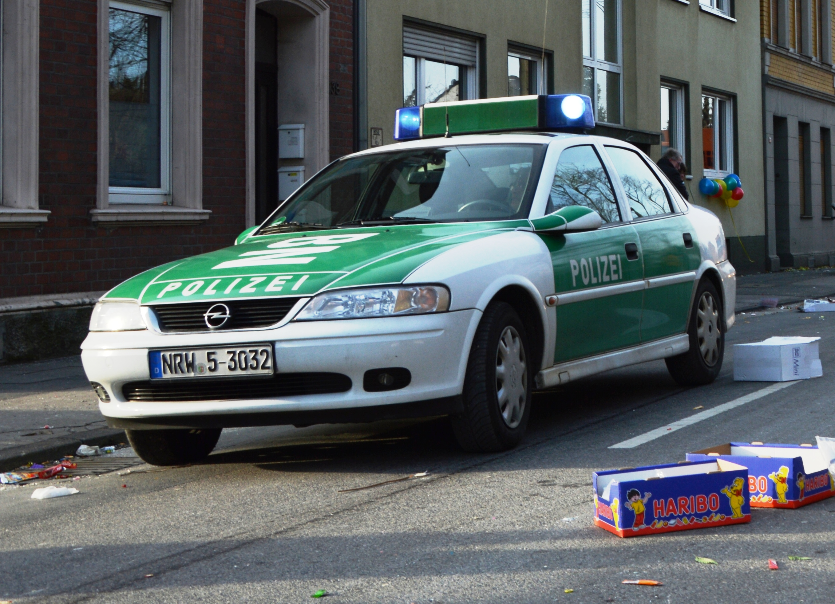 File Opel Vectra B German Police Car Spielvogel Jpg