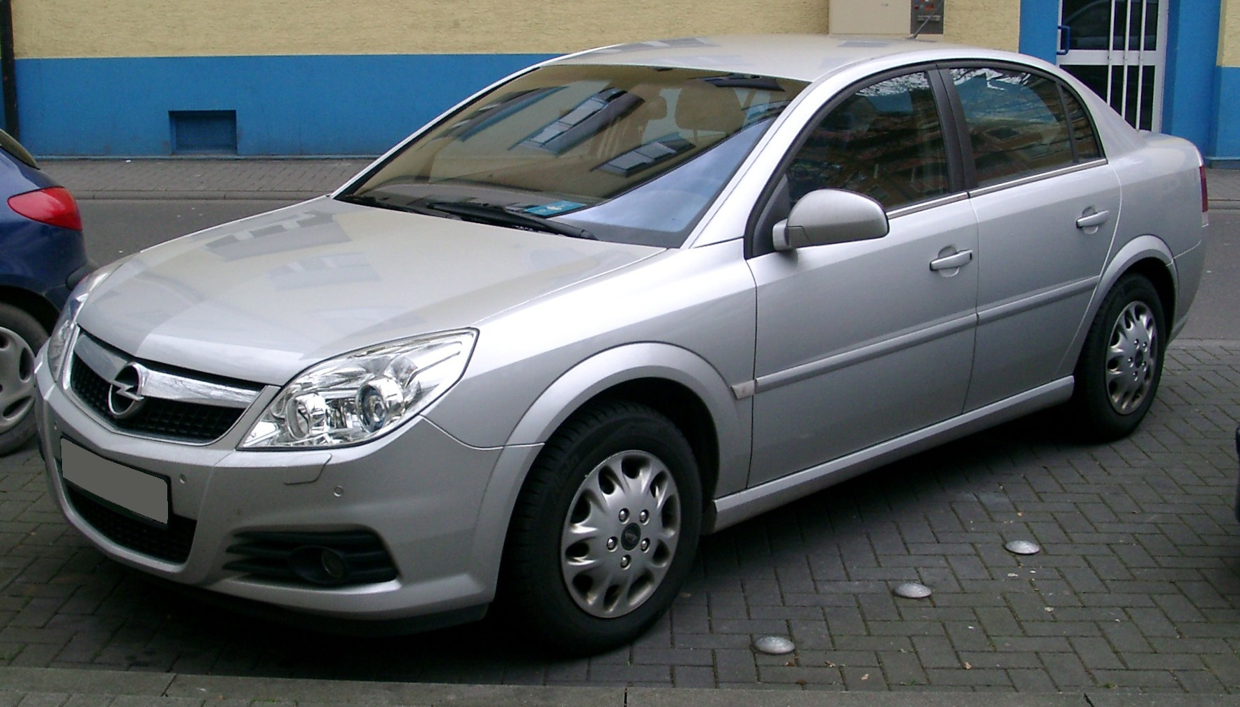 File Opel Vectra Front 20080226 Jpg Wikimedia Commons