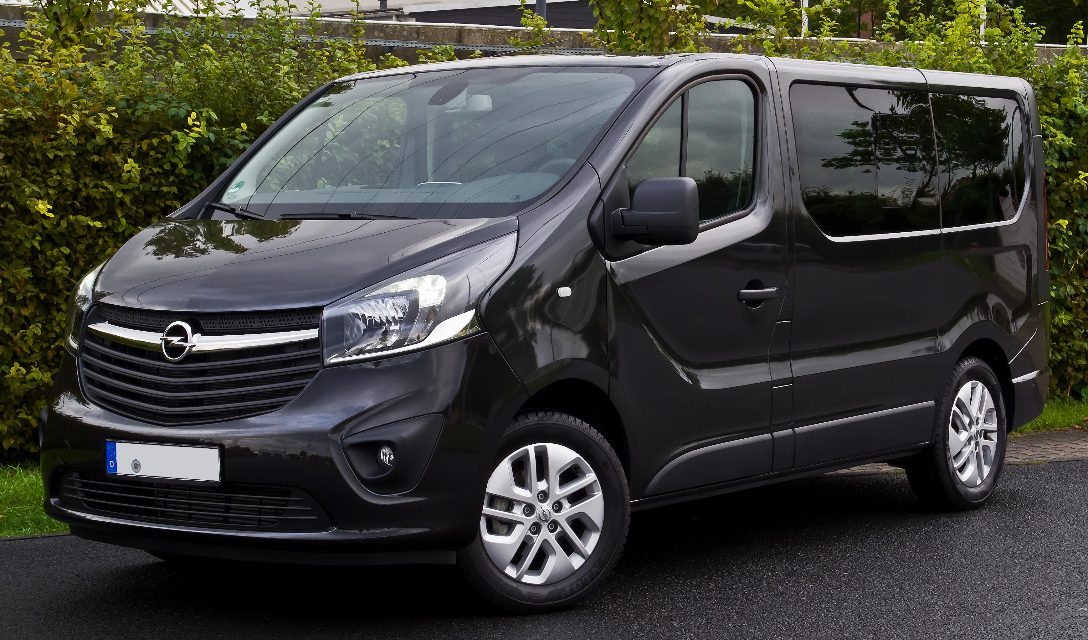 Golf 4 Dimensions >> Opel Vivaro - Wikiwand