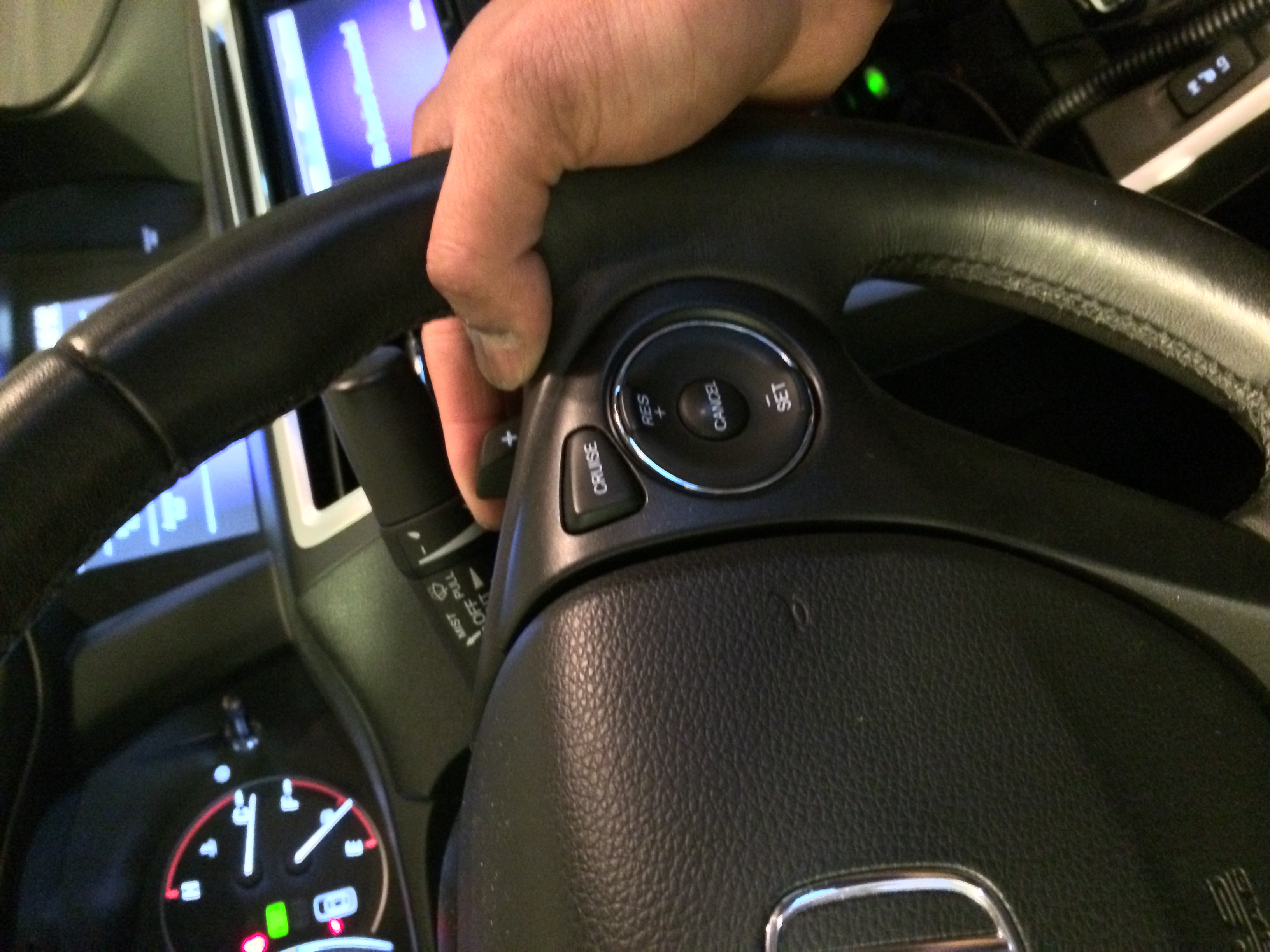 Honda Accord: Using the Paddle Shifters in the D position (D-Paddle Shift Mode)