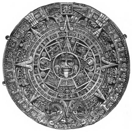 Aztec Calendar Stone.File Page178 The Aztec Calendar Stone Jpg Wikimedia Commons