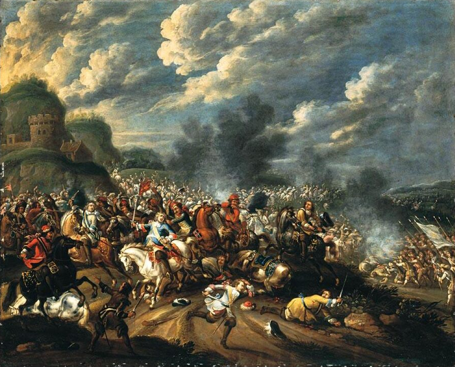 Pauwels Casteels - Battle between king John Sobieski III and the Turks.jpg