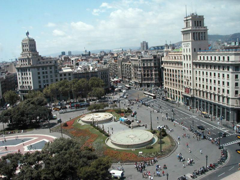 File plaza catalu wikimedia commons - Placa universitat barcelona ...