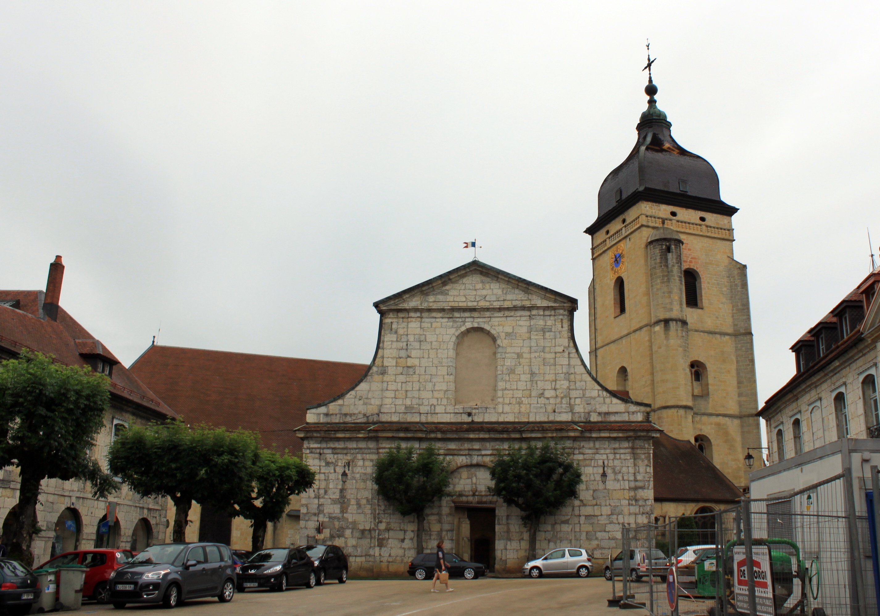 Pontarlier France  city photo : Pontarlier Église Saint Bénigne 1 Wikimedia Commons