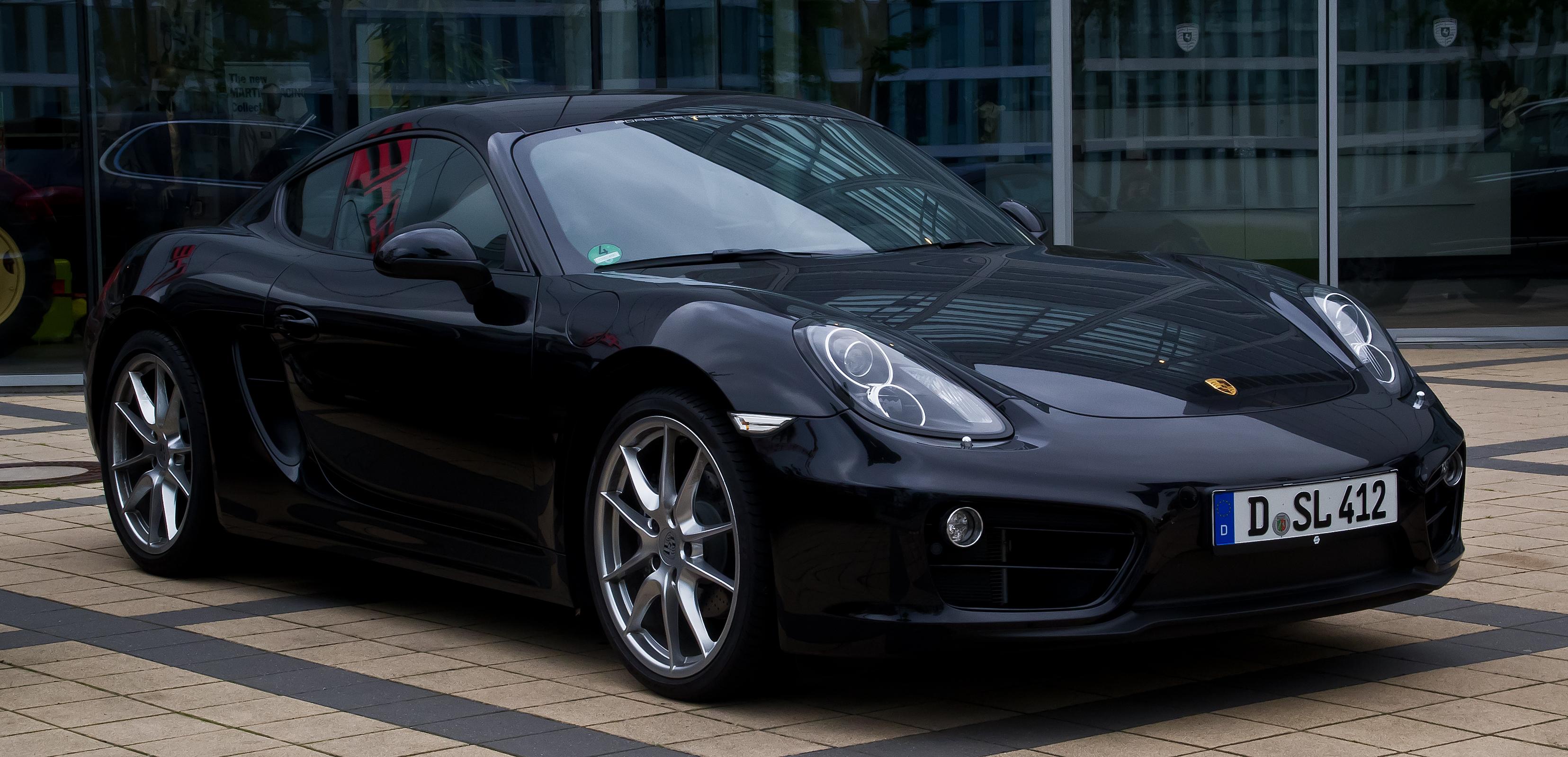 File:Porsche Cayman (II) – Frontansicht, 1. Juni 2013 ...