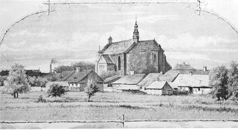 Plik:Proszowice - panarama miasta 1883.JPG