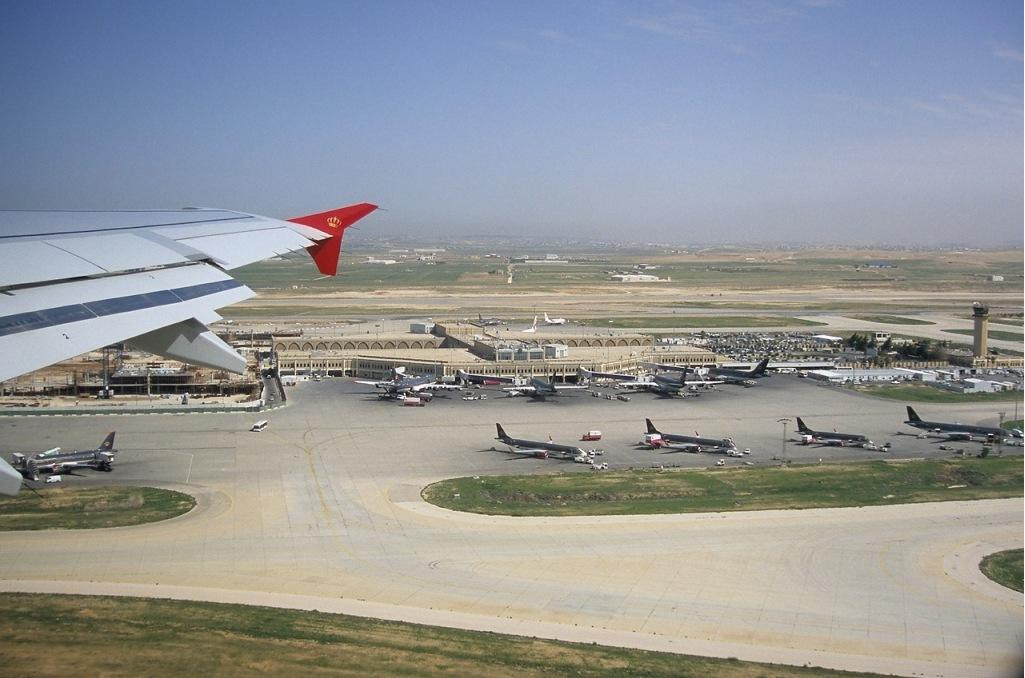 Description Queen Alia International Airport jpgQueen Alia Airport Arrivals