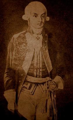Н.Н.Раевский— командир Нижегородского драгунского полка. 1790-е гг.