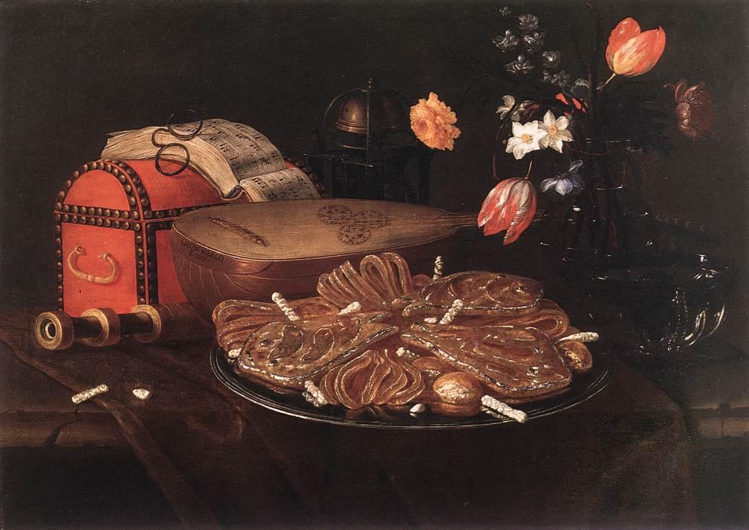 Recco, Giuseppe - Still-life with the Five Senses - 1676.jpg