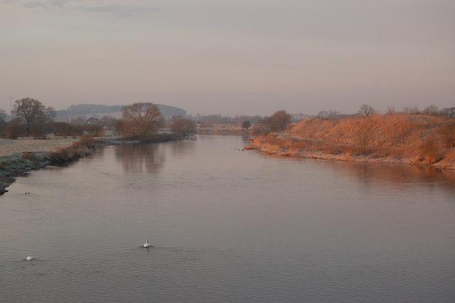 River Trent From Willington Bridge - geograph.org.uk - 134668