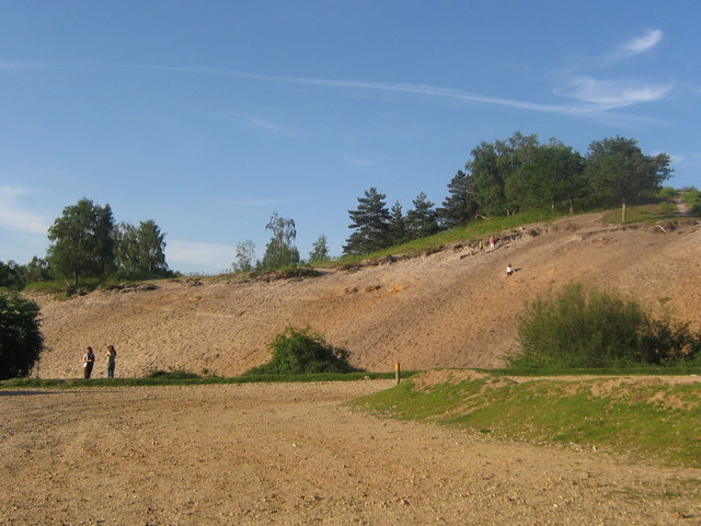 Rockford Common sand pit - geograph.org.uk - 391210