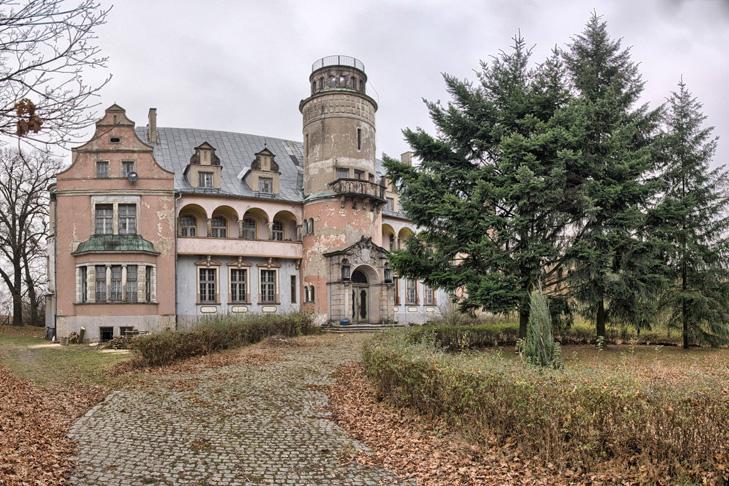 Roszkowice Pałac Fryderyka Hansa von Cramon – Taubadel