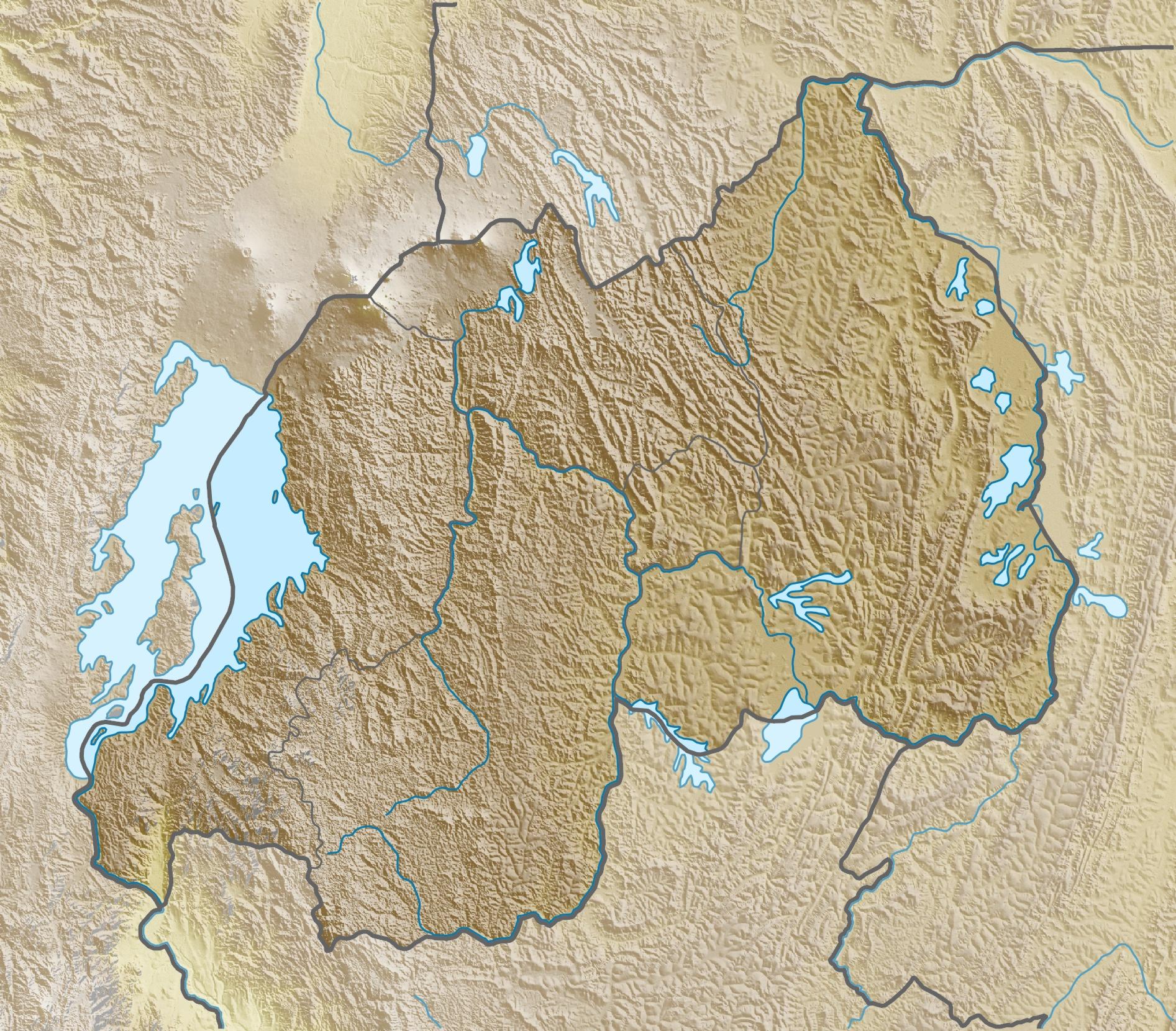 FileRwanda relief location mapjpg Wikimedia Commons