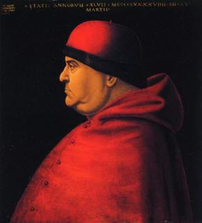 Асканио Сфорца. Изображение из Википедии
