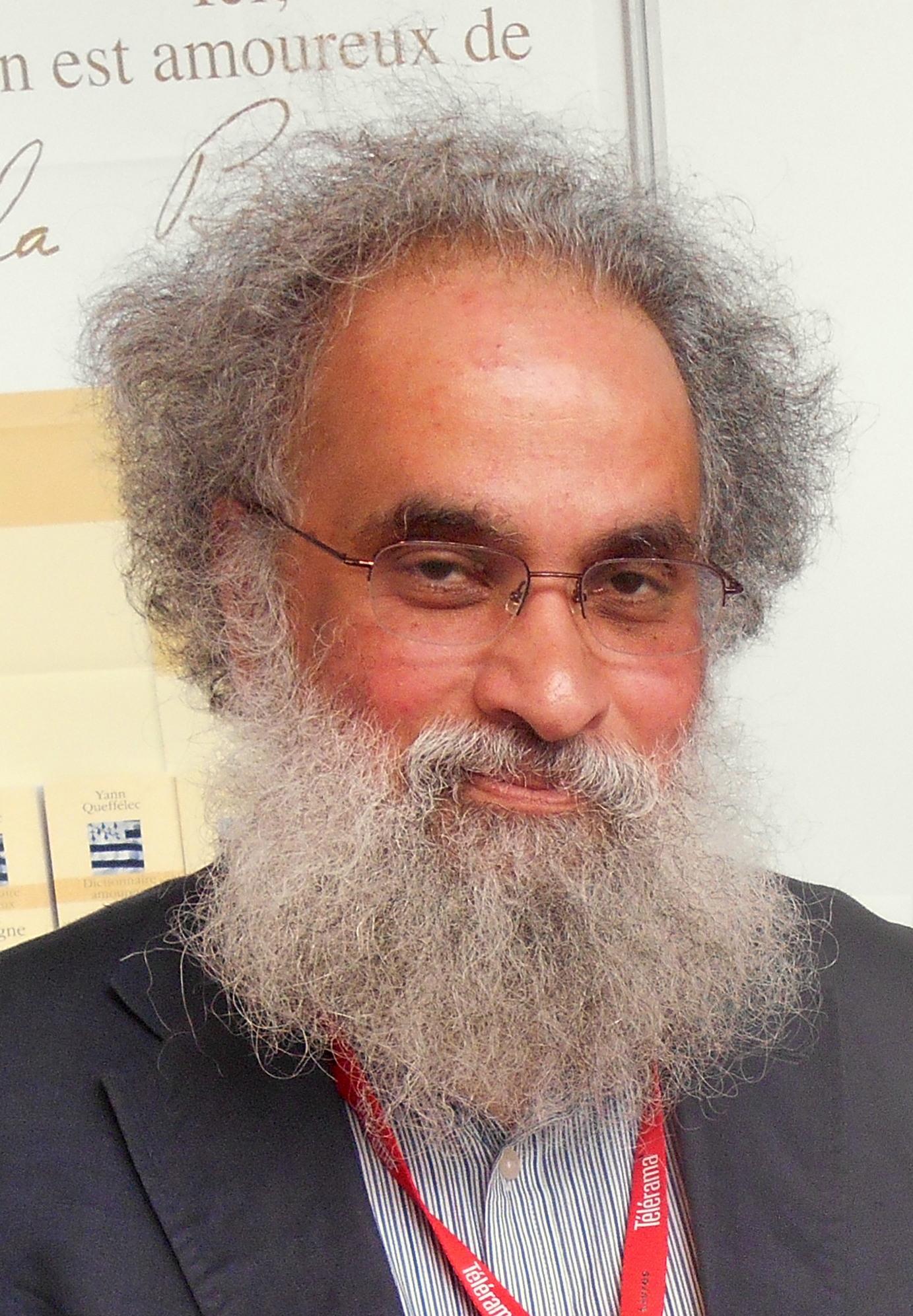 Sanjay Subrahmanyam at Festival Étonnant Voyageur de Saint-Malo (France), 2014.