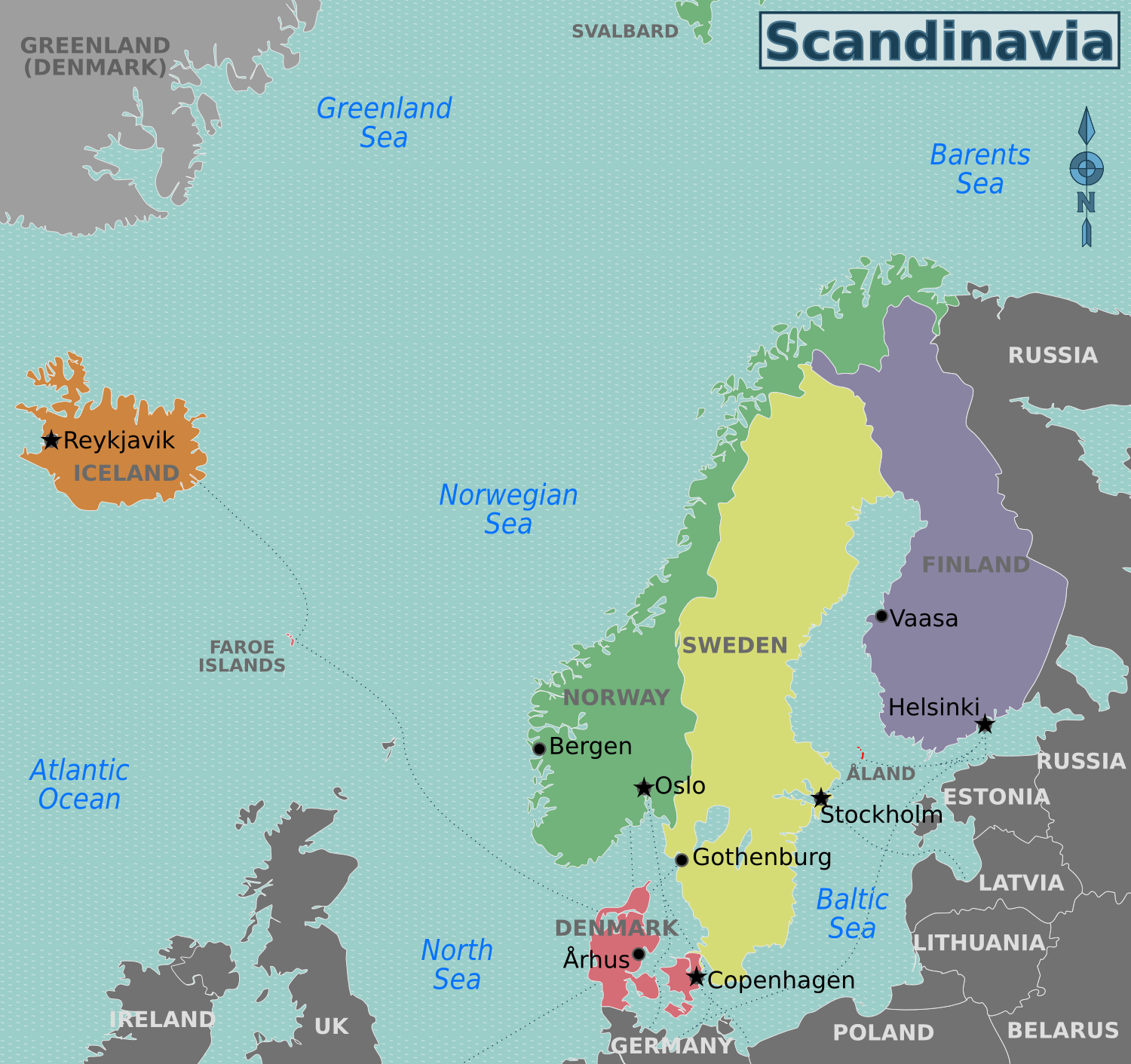 a description of sweden as one of the countries that are located in northern europe I've met estonians who assert that they are in northern europe,  there's one more thing that eastern  the hidden europe puts 25 countries in eastern europe .