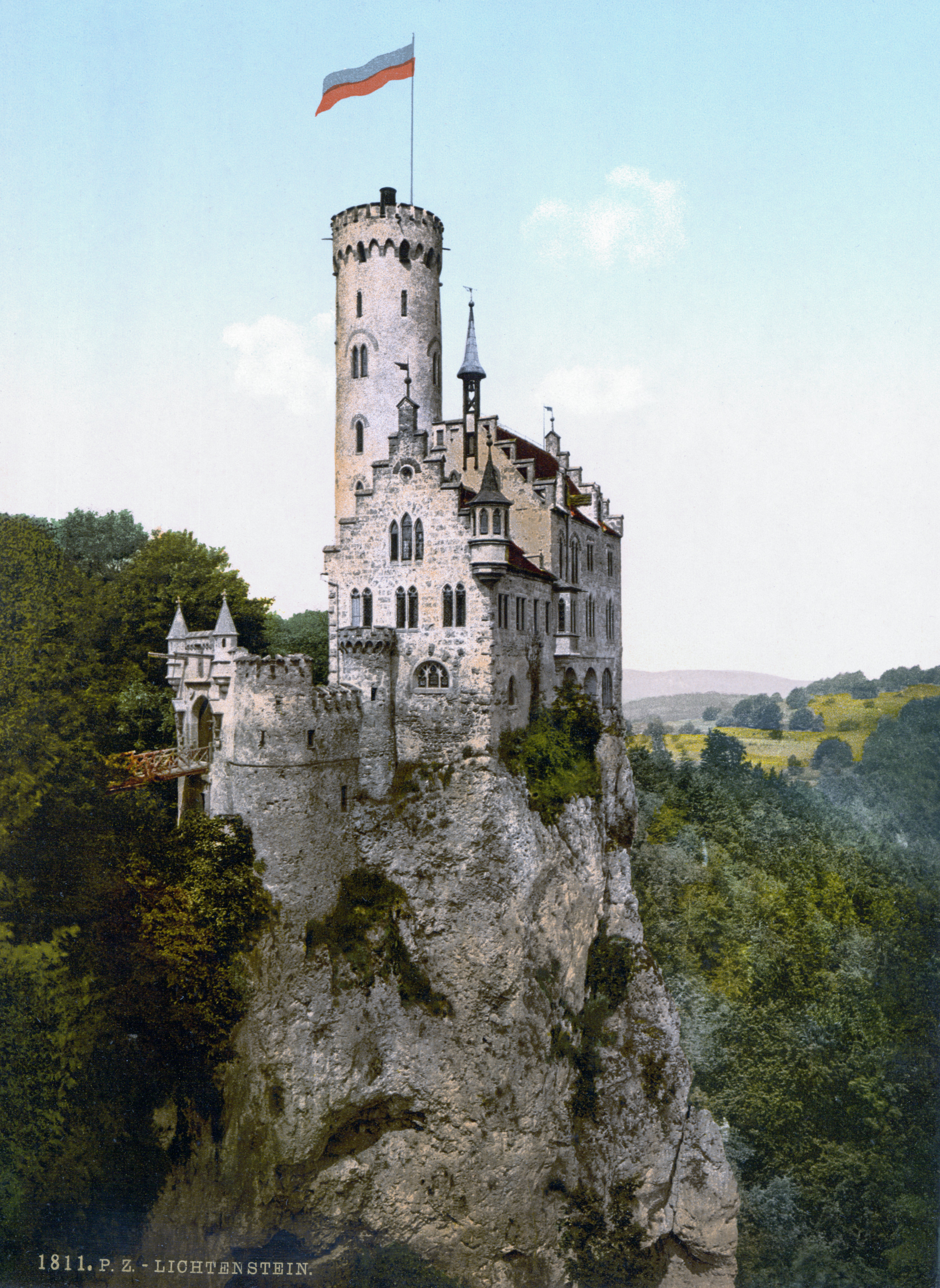 Transcontinental Race 2017 Schloss_Lichtenstein_1900