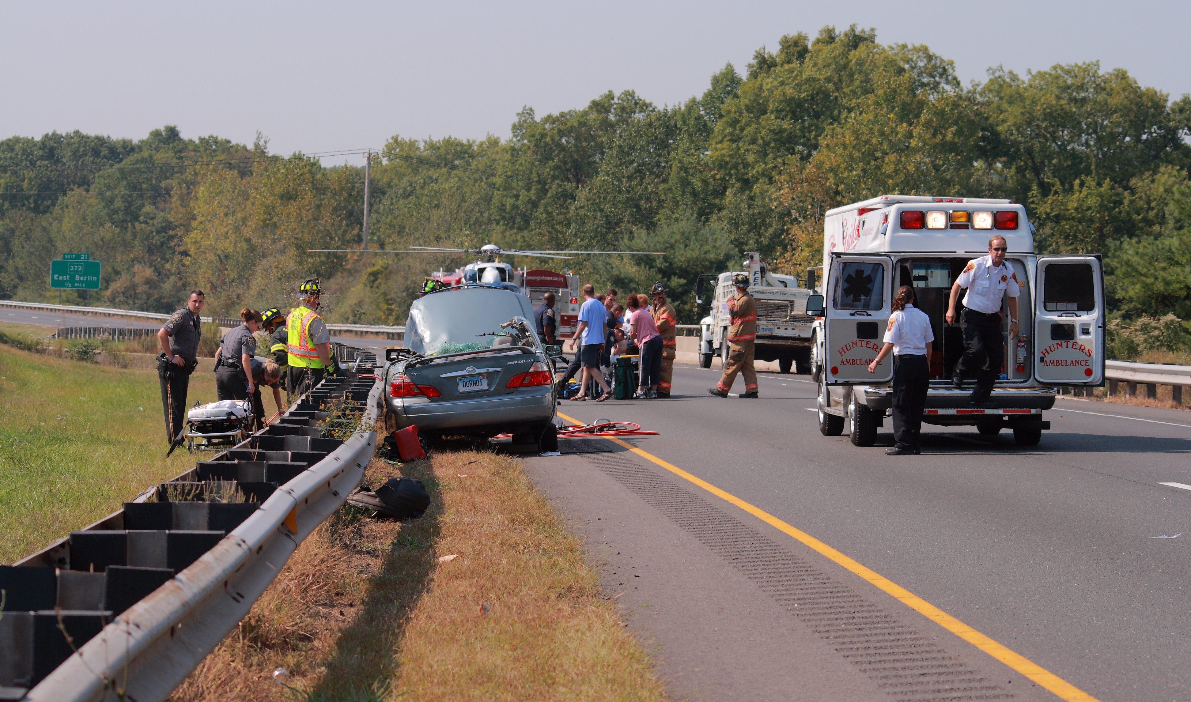 Car Accident Highway  California