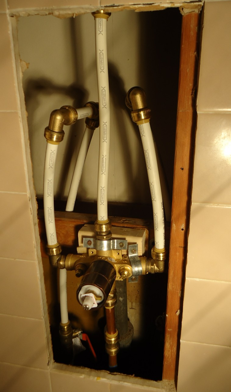 fileshower project new diverter valve plus pex pipes attachedjpg