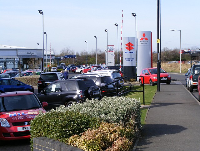 FileSilverlink Mitsubishi Suzuki And Toyota Dealers Geograph - Mitsubishi local dealers