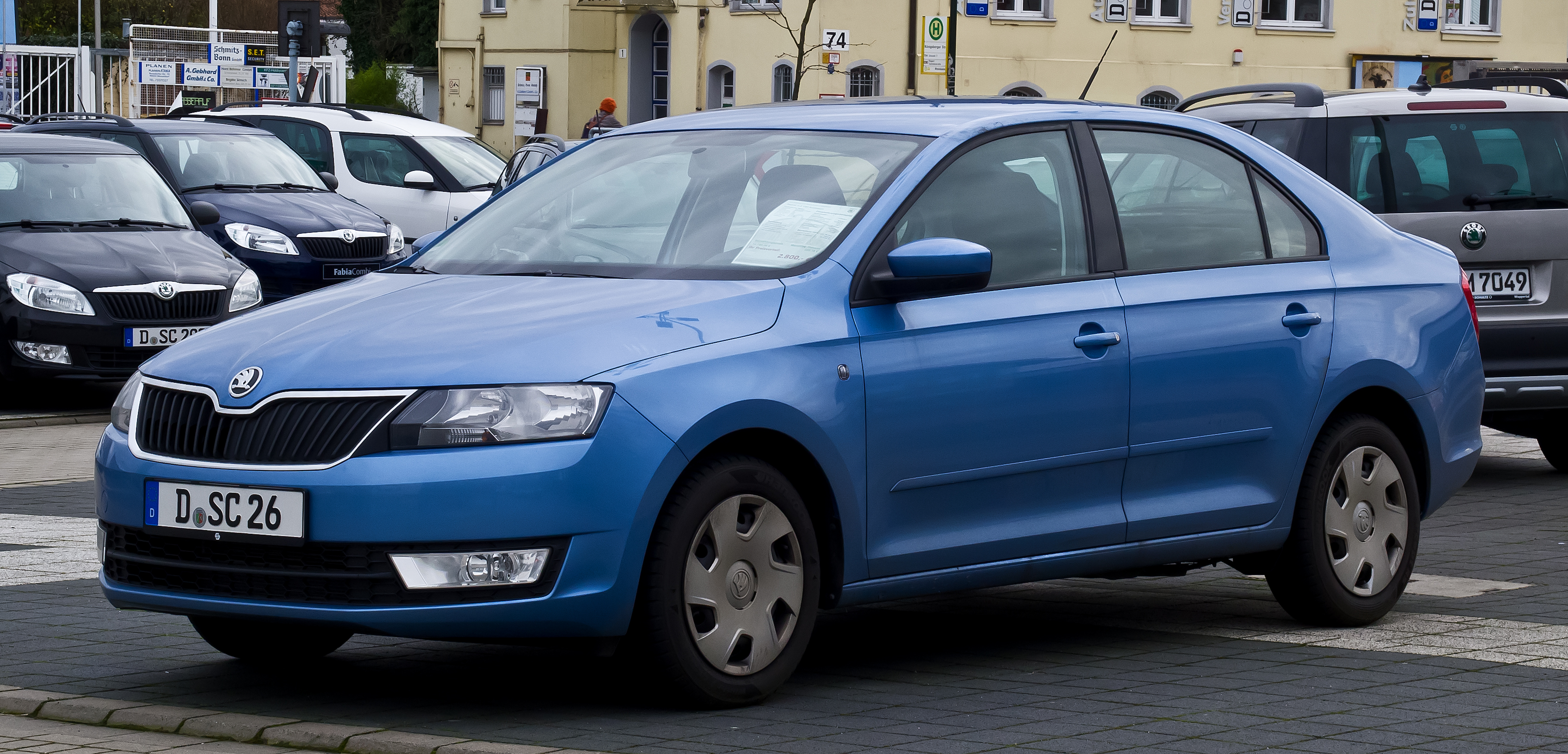 file skoda rapid 1 2 tsi ambition frontansicht 31 dezember 2012 d wikimedia. Black Bedroom Furniture Sets. Home Design Ideas