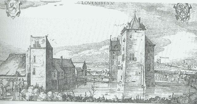 Slot loevestein 1621