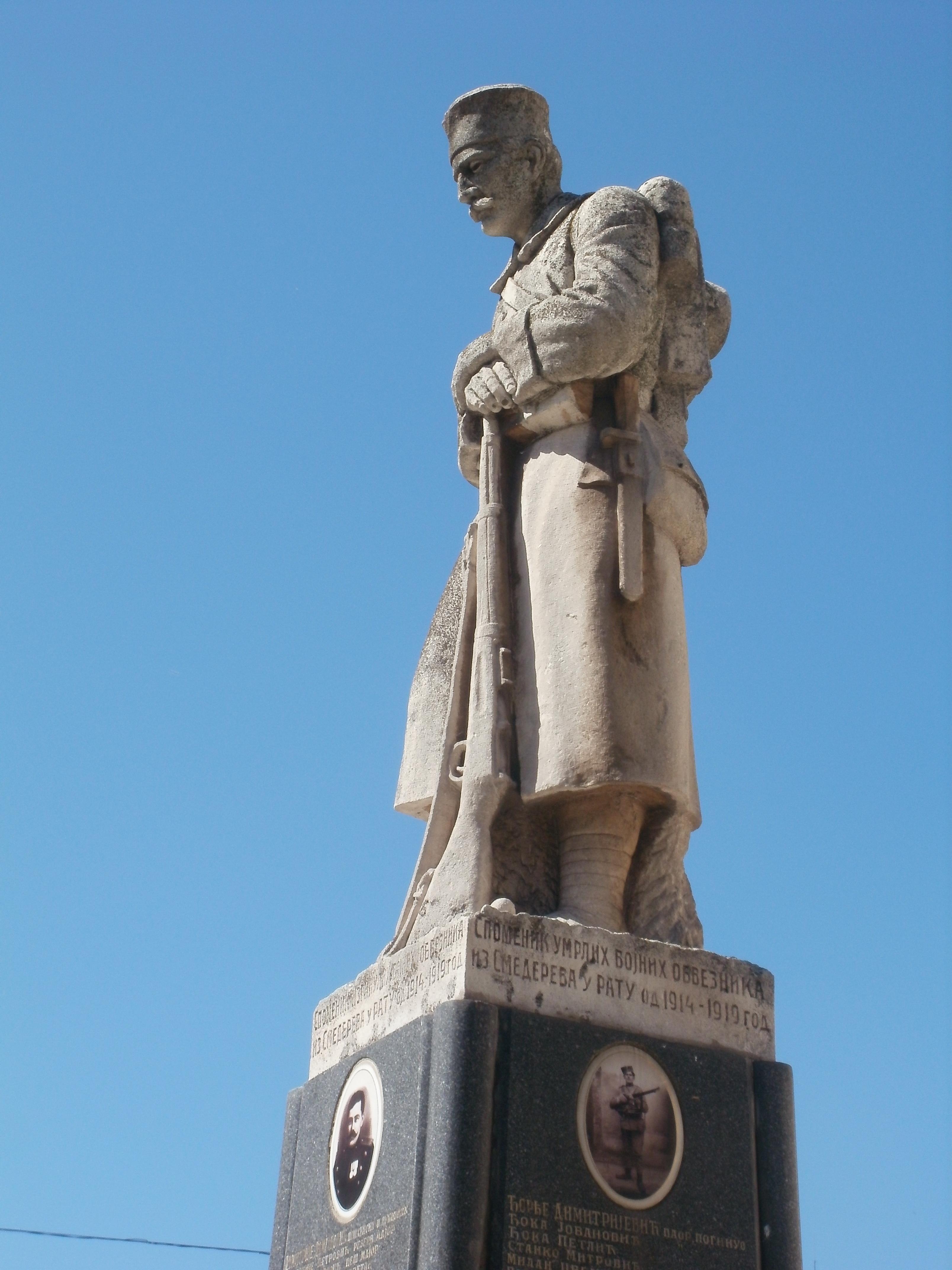 File Smederevo Spomenik Palim Borcima U Prvom Svetskom Ratu 13