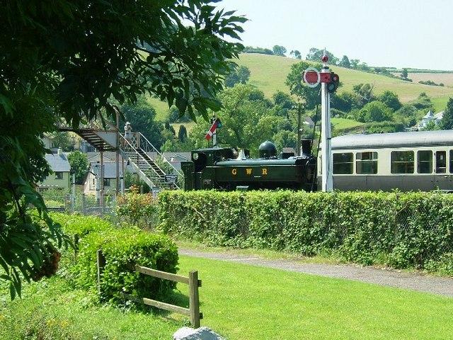 South Devon Railway, Buckfastleigh - geograph.org.uk - 195967