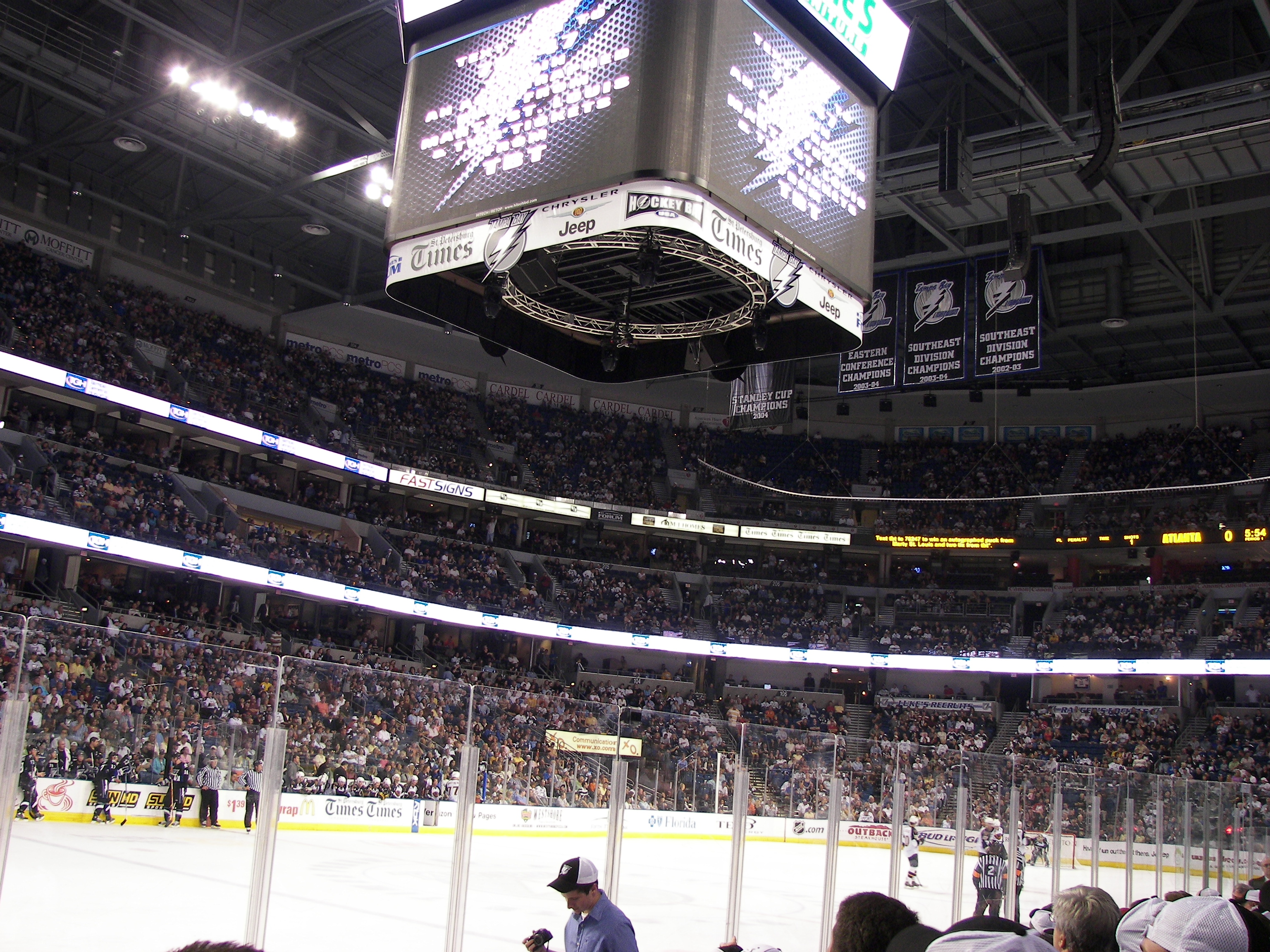 photo about Tampa Bay Lightning Printable Schedule named Listing of Tampa Bay Lightning seasons - Wikipedia