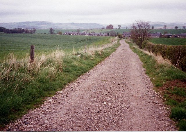 St Cuthbert's Way looking east towards Cessford - geograph.org.uk - 65113