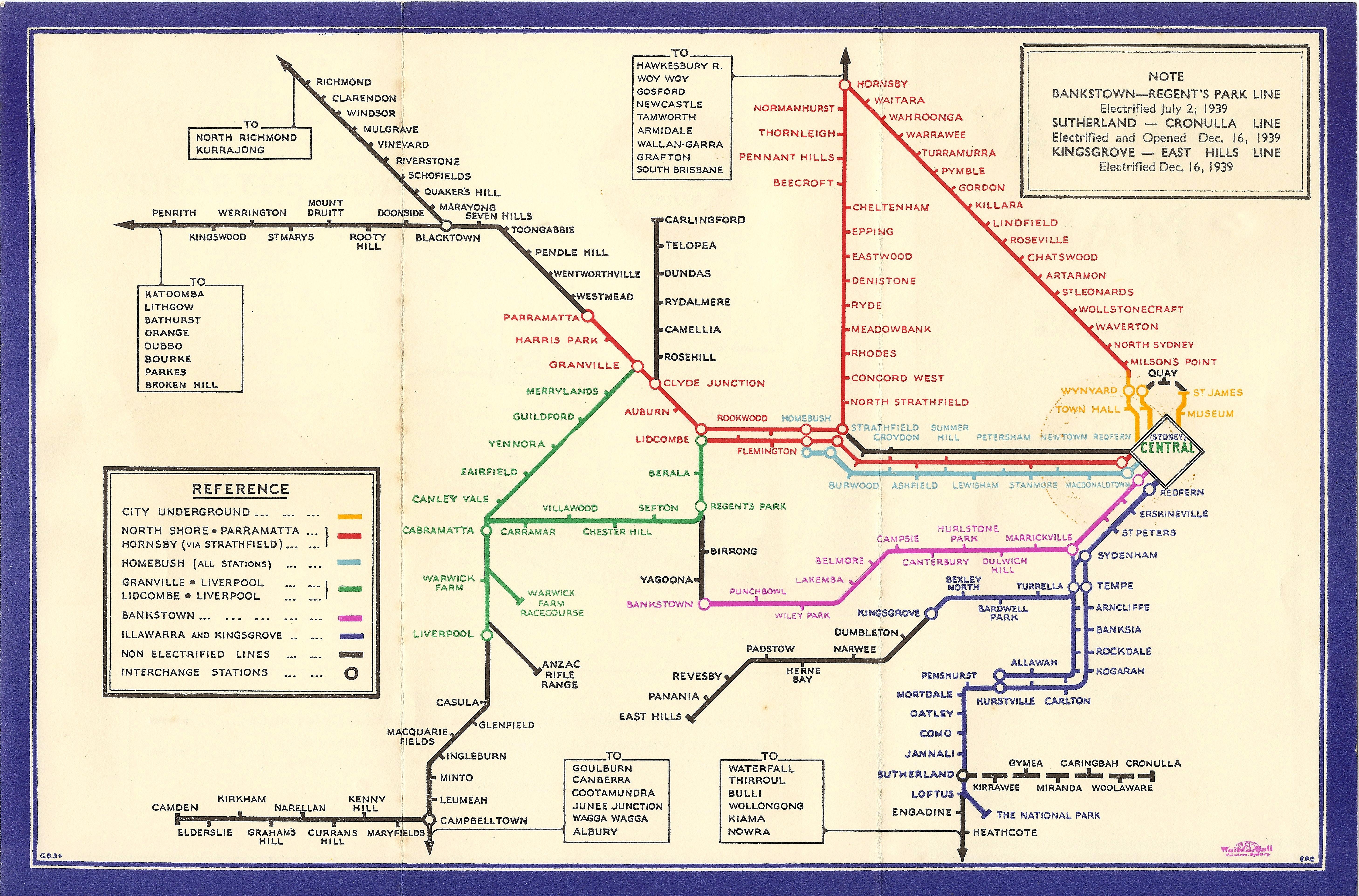 perth rail map australia sydney - photo#2