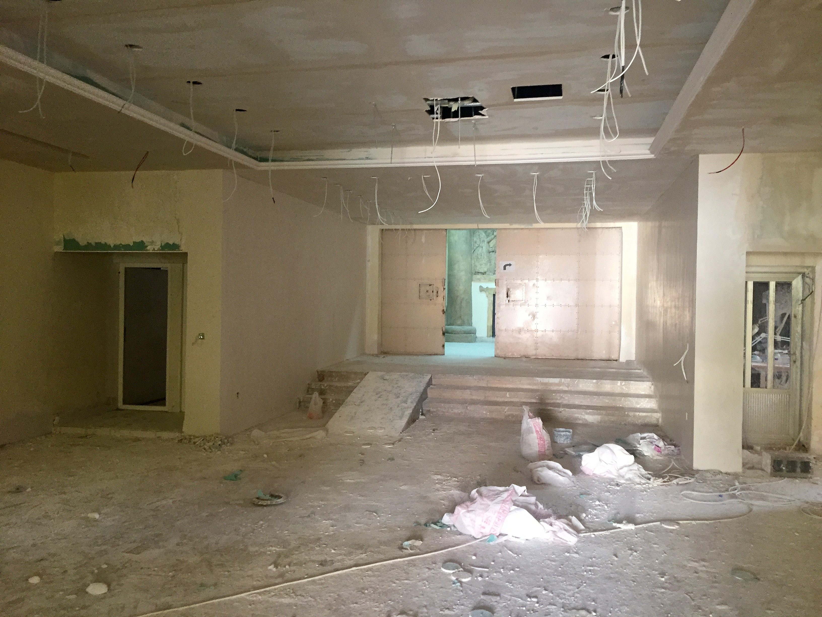 file the sulaymaniyah museum s entrance hall undergoing renovation rh commons wikimedia org how much to finish a basement in colorado how much to finish a basement edmonton