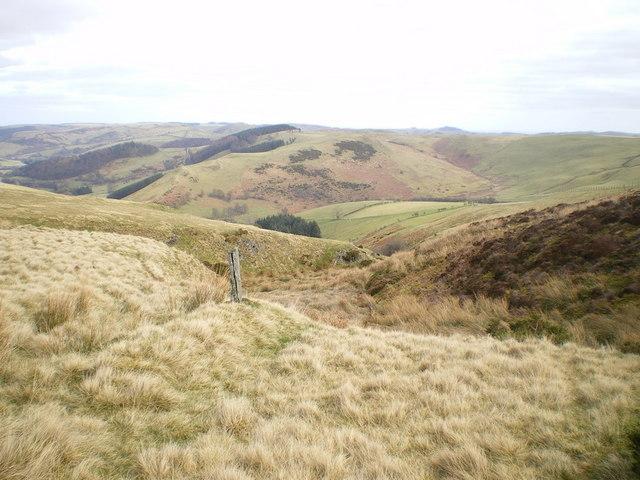 The upper reaches of the Nant Maengwyn - geograph.org.uk - 1205105