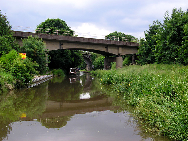 Trent and Mersey Canal at Rugeley, Staffordshire - geograph.org.uk - 1004512