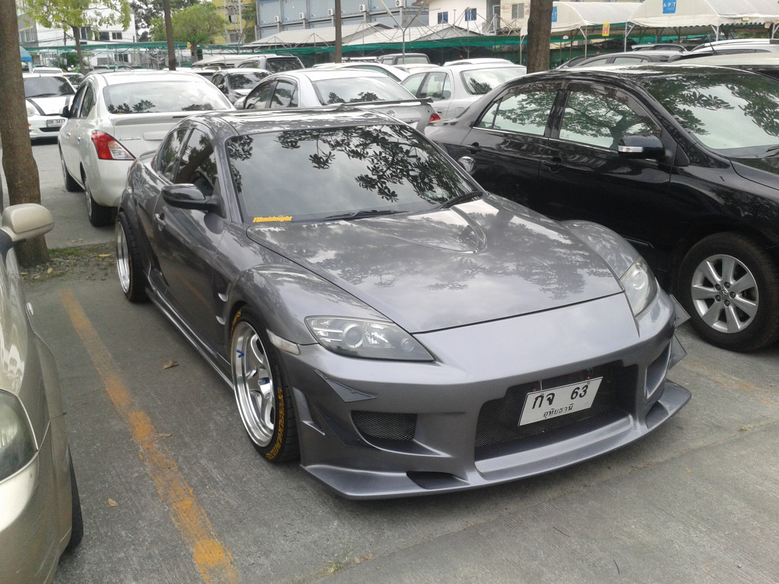 File Tuned Mazda Rx 8 In Bangkok Thailand Jpg Wikimedia Commons