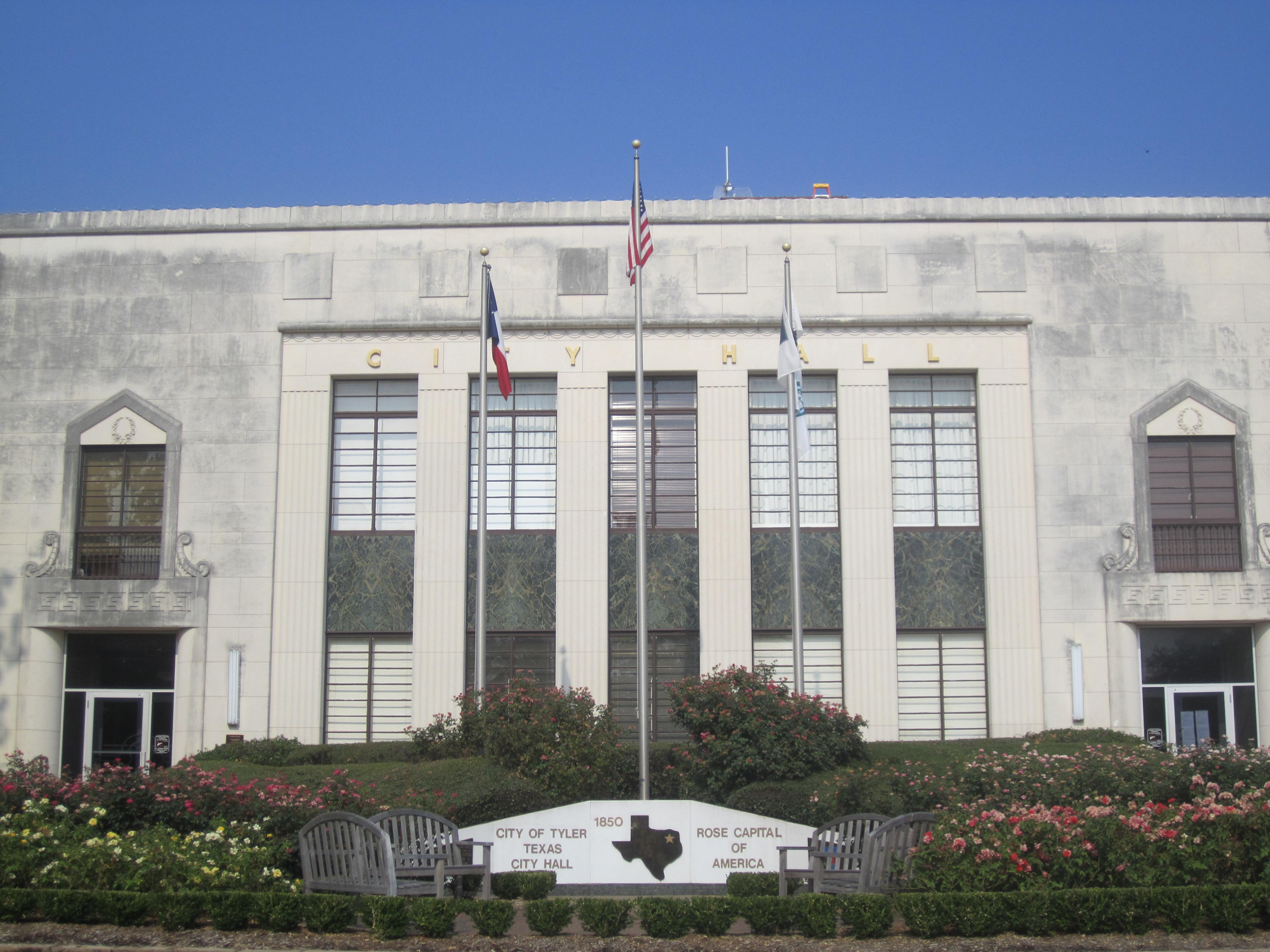 Tyler City Hall Tyler Texas Familypedia