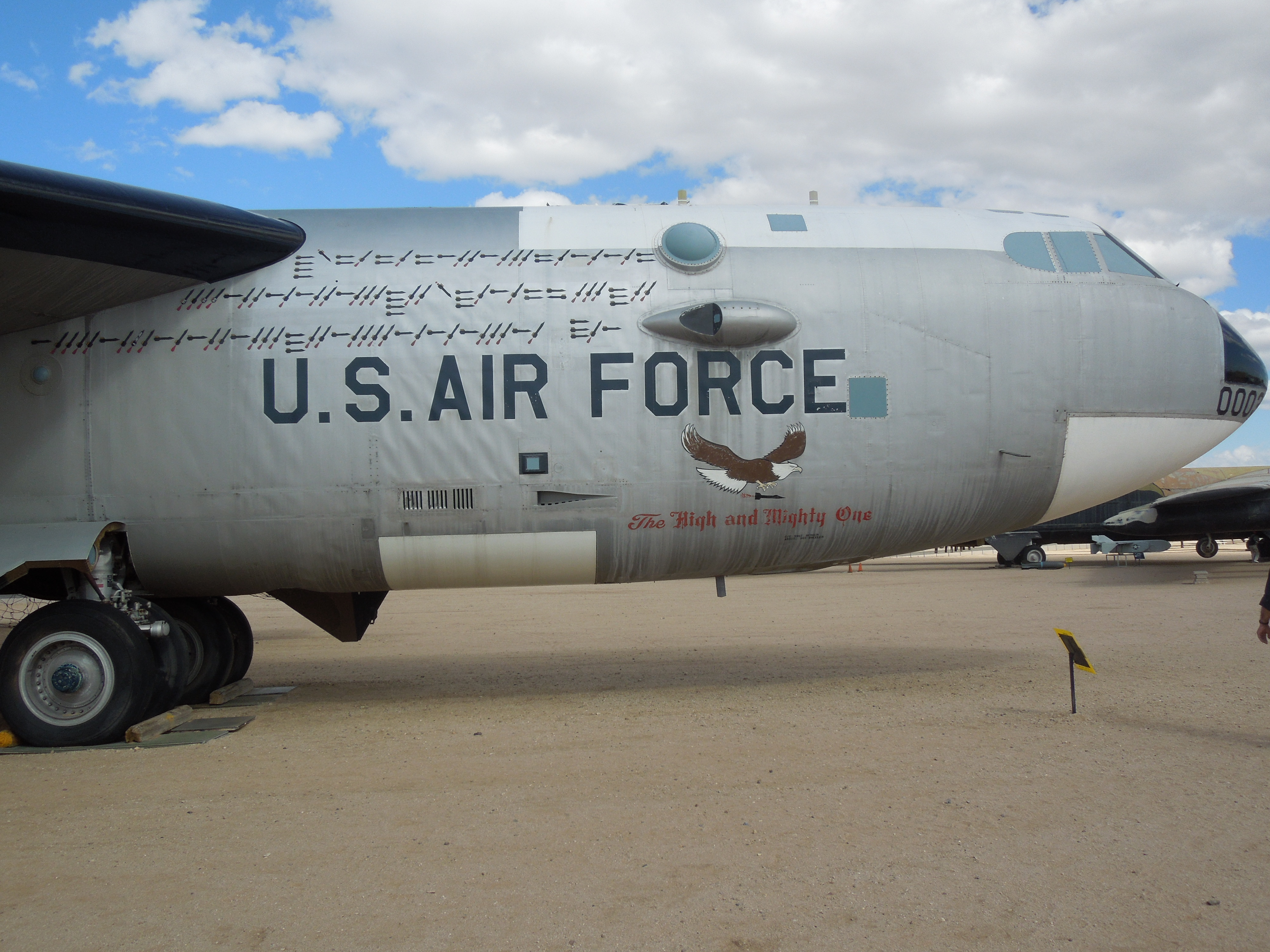 FileUS Air Force Aircraft At Pima Air  Space MuseumJPG - Air force museums in us