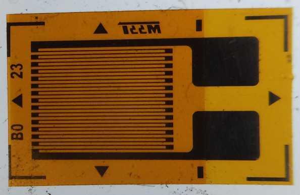 Strain gauge wikipedia an unmounted resistive foil strain gauge keyboard keysfo Choice Image