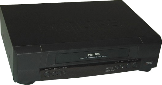 video cassette recorder