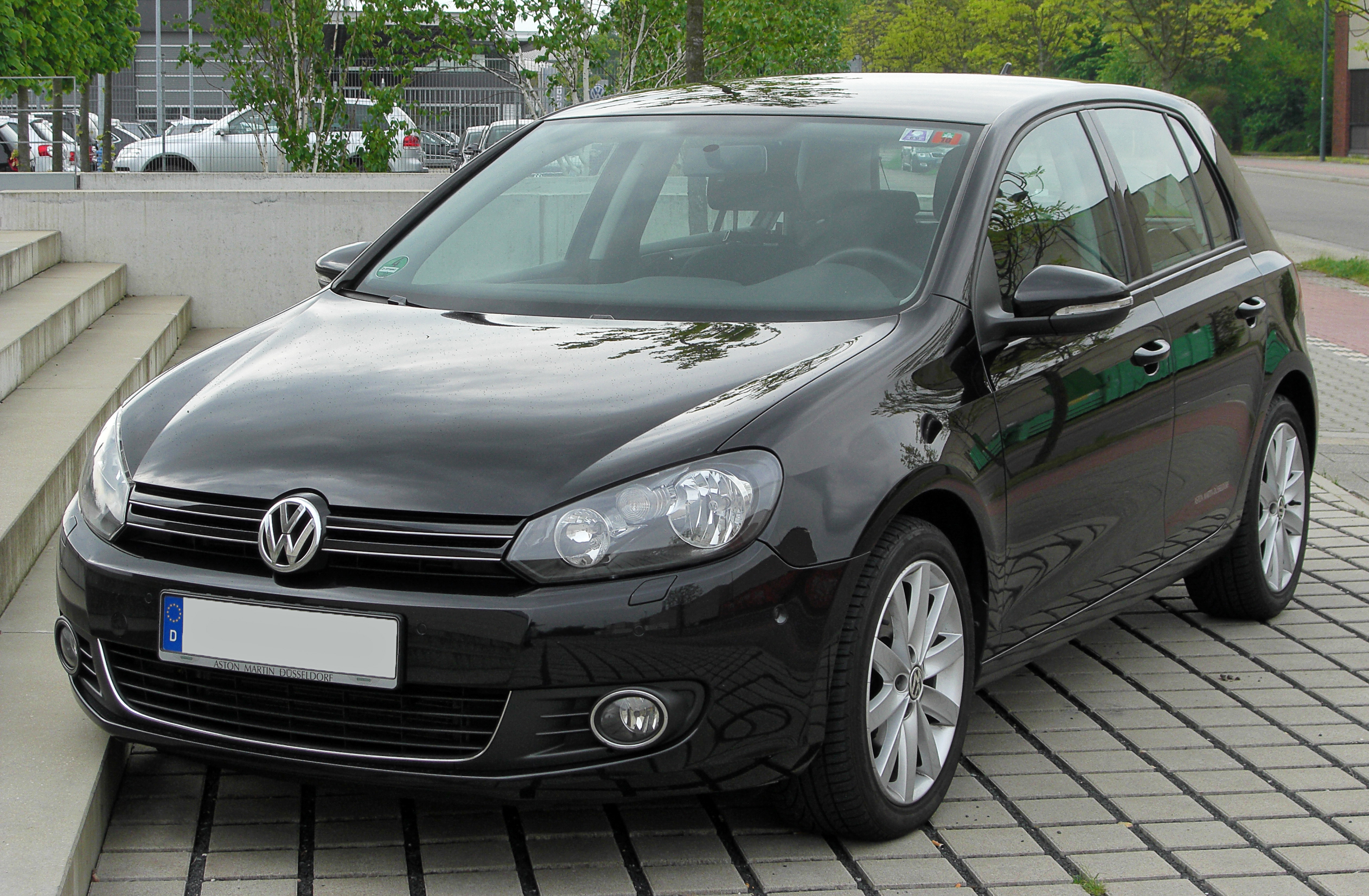 file vw golf vi 2 0 tdi front wikimedia commons. Black Bedroom Furniture Sets. Home Design Ideas
