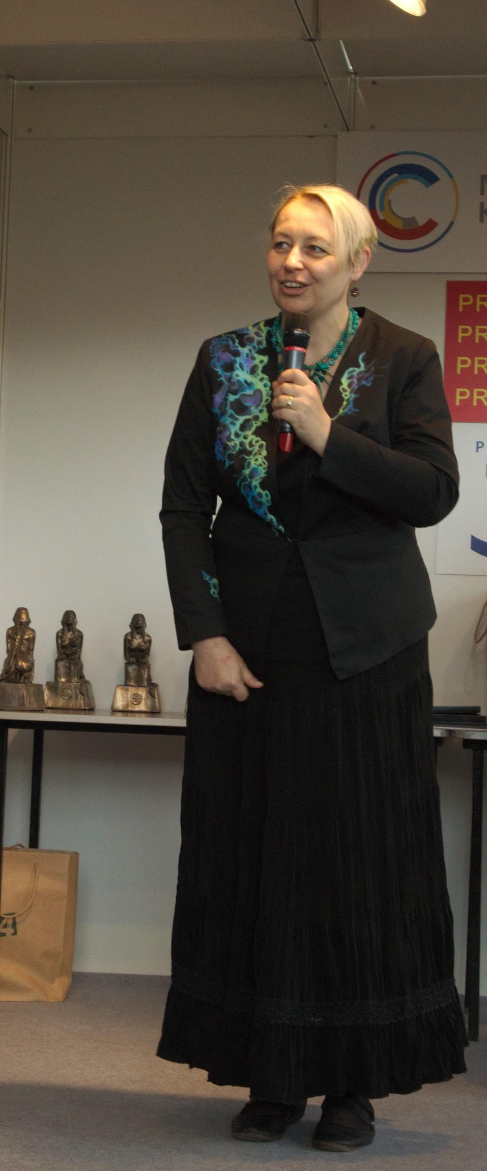 Vilma Kadlečková in 2015