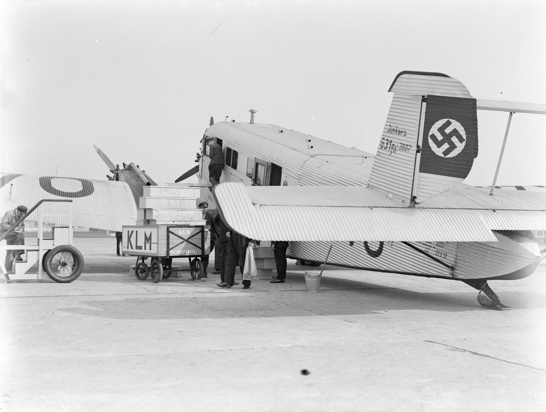 Filevliegtuig Junkers G 31 D 1770 Preussen Van Lufthansa Met Een