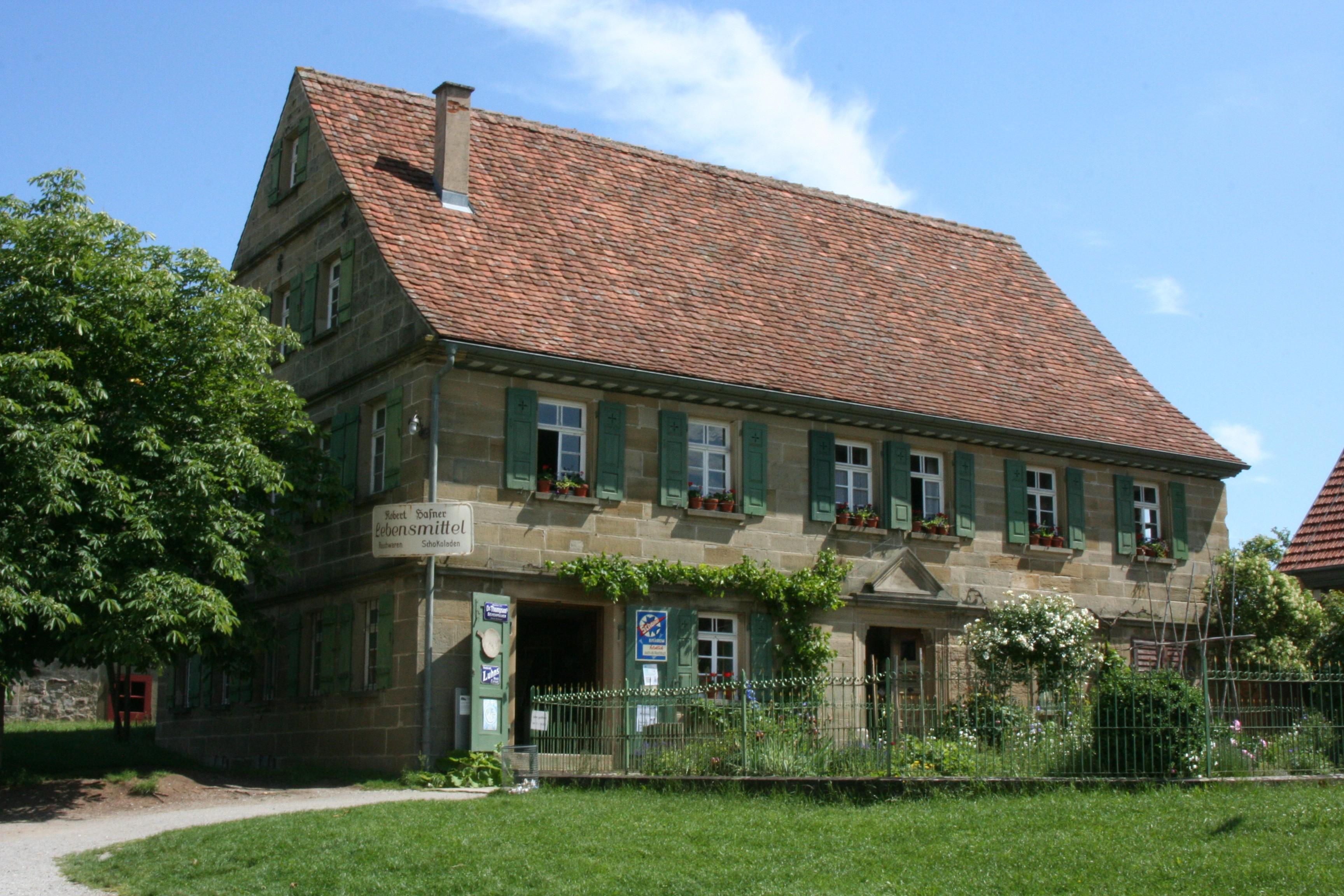 Filewackershofen freilandmuseum wohn stall haus schoenenberg 20070530
