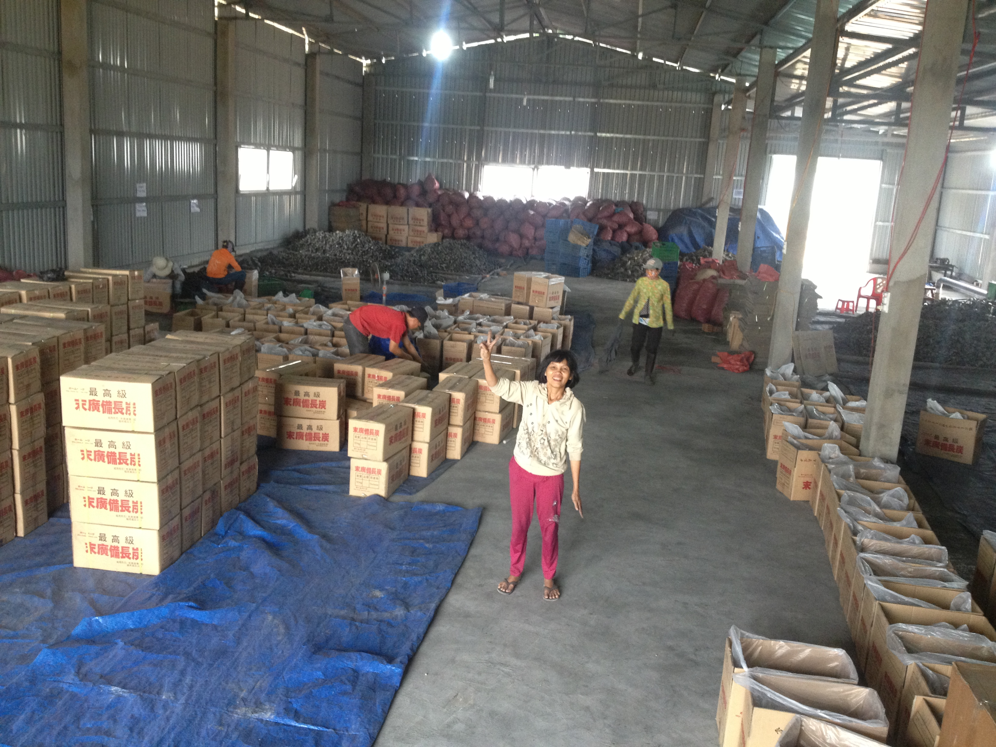 Joint stock company - File Warehouse White Charcoal Binchotan Of Vietnam Binchotan Joint Stock Company Picture 2